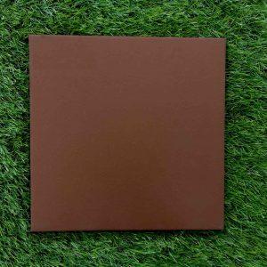 กระเบื้องดินเผา สีแดงเข้ม 30X30 เซนติเมตร