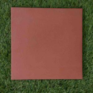 กระเบื้องดินเผา สีส้มเข้ม 30X30 เซนติเมตร