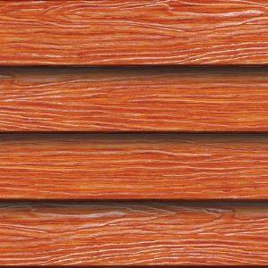 ไม้ฝา เอสซีจี รุ่นประกายเงา ขนาด 15x400x0.8 ซม. สีสักทองประกายเงา