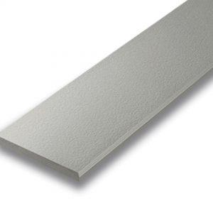 ไม้ระแนง เอสซีจี รุ่นลบขอบ ขนาด 10X300X0.8 ซม. สีซีเมนต์