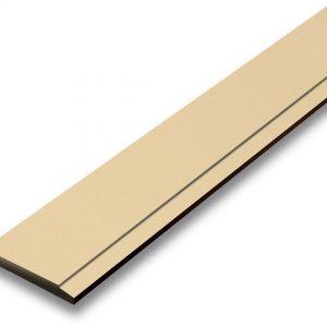 ไม้เชิงชาย เอสซีจี ขนาด 15x300x1.6 ซม. สีรองพื้นครีม