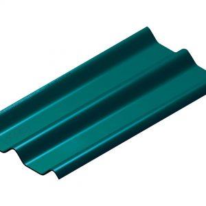 กระเบื้องหลังคาไฟเบอร์ซีเมนต์ เอสซีจี รุ่นลอนคู่ (ความยาว 150 ซม.) เขียวสมุทร