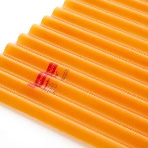 แผ่นโปร่งแสง เอสซีจี ลอนกันสาด105x400x0.12 ซม.สีส้ม