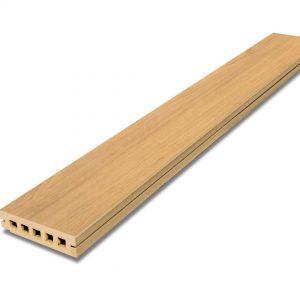 ไม้พื้น เอสซีจี พรีเมียม 15x300x3.75 ซม. สีสักทอง