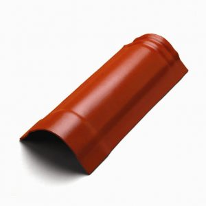 ครอบสันโค้ง(ระบบครอบ 3 ชิ้น) ไฟเบอร์ซีเมนต์ เอสซีจี รุ่นพรีม่า สีแดง