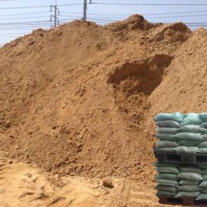 ทรายหยาบ (ถุง)