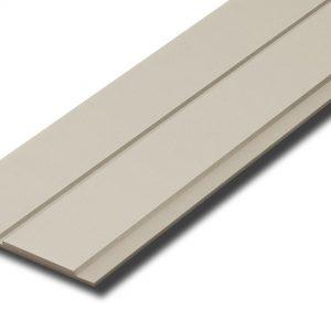 ไม้ฝา เอสซีจี รุ่นบังใบ V2 ขนาด 23.6x300x1.0 ซม. สีซีเมนต์