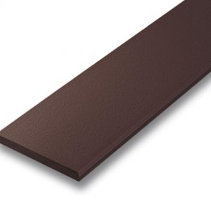 ไม้ระแนง เอสซีจี รุ่นลบมุม ขนาด 7.5x300x0.8 ซม. สีน้ำตาลโอ๊ค