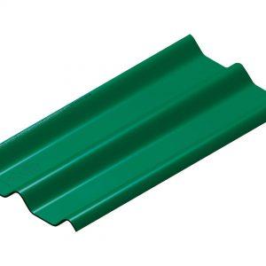 กระเบื้องหลังคาไฟเบอร์ซีเมนต์ เอสซีจี รุ่นลอนคู่ (ความยาว 120 ซม.) เขียว