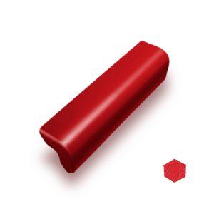 ครอบข้างปิดชาย ไฟเบอร์ซีเมนต์ เอสซีจี รุ่นลอนคู่ สีแดงประกายมุก