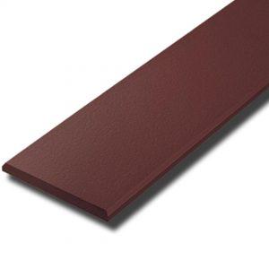 ไม้ระแนง เอสซีจี รุ่นลบมุม ขนาด 7.5x300x0.8 ซม. สีโอ๊คแดง