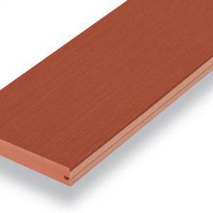 ไม้พื้น เอสซีจี ทีคลิป 16x300x2.5 ซม. มะฮอกกานี