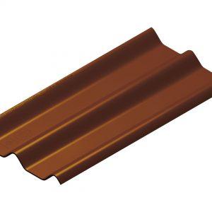 กระเบื้องหลังคาไฟเบอร์ซีเมนต์ เอสซีจี รุ่นลอนคู่ (ความยาว 150 ซม.) เปลือกมังคุด