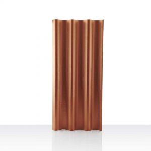 กระเบื้องหลังคาไฟเบอร์ซีเมนต์ เอสซีจี รุ่นเคิฟลอน (ความยาว 120 ซม.) ส้มทอแสง