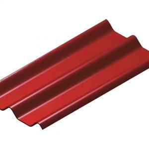 กระเบื้องหลังคาไฟเบอร์ซีเมนต์ เอสซีจี รุ่นลอนคู่ (ความยาว 150 ซม.) แดง