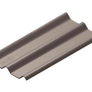 กระเบื้องหลังคาไฟเบอร์ซีเมนต์ เอสซีจี รุ่นลอนคู่ (ความยาว 150 ซม.) สีเทาศิลา
