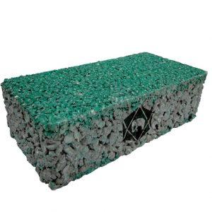 บล็อกปูพื้น เอสซีจี รุ่น Porous Block 10x20x6 ซม. สีเขียว