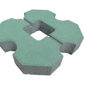 บล็อกปูพื้น เอสซีจี รุ่น Grass Block No.01 ขนาด 30 x 30 x 6 ซม. สีเขียว