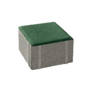 บล็อกปูพื้น เอสซีจี รุ่น La Linear Coolplus ขนาด 10 X 10 X 6 ซม. (8 ก้อน/ห่อ) สีเขียว