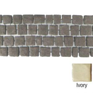 แผ่นทางเดินเอสซีจี รุ่น Carpet Stone สี่เหลี่ยม ผิวเรียบ สีไอวอรี่ 38x92x2 ซ.ม.