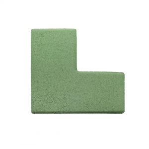 บล็อกปูพื้น เอสซีจี รุ่น L-Shape สีเขียว