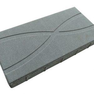 บล็อกปูพื้น เอสซีจี รุ่น La Linear Graphic Pattern 1 ขนาด 30x60x6 ซม. สีเทา