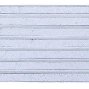 กระเบื้องคอนกรีตตกแต่งผนัง เอสซีจี รุ่น ทรูเซนเซชั่น ไลน์ ขนาด 10X50X3 ซม. สีขาว