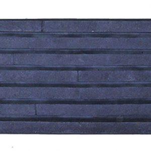 กระเบื้องคอนกรีตตกแต่งผนัง เอสซีจี รุ่น ทรูเซนเซชั่น ไลน์ ขนาด 10X50X3 ซม. สีดำ