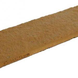 กระเบื้องคอนกรีตตกแต่งผนัง เอสซีจี รุ่น ทรูเซนเซชั่น กริท ขนาด 6.25X20X1.5 ซม. สีฮันนี บราวน์