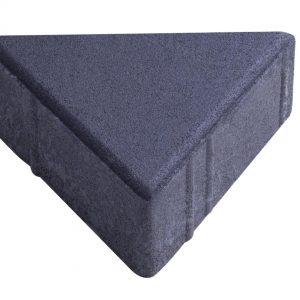 บล็อกปูพื้น เอสซีจี รุ่น Trio Block ขนาด 20 x 16.8 x 6 ซม. สีดำ