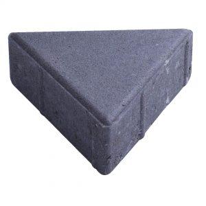 บล็อกปูพื้น เอสซีจี รุ่น Trio Block ขนาด 20 x 16.8 x 6 ซม. สีเทา